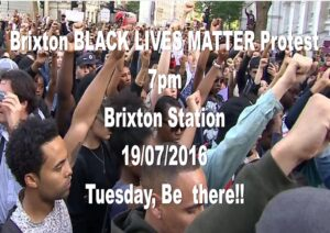 Brixton protest 19th July